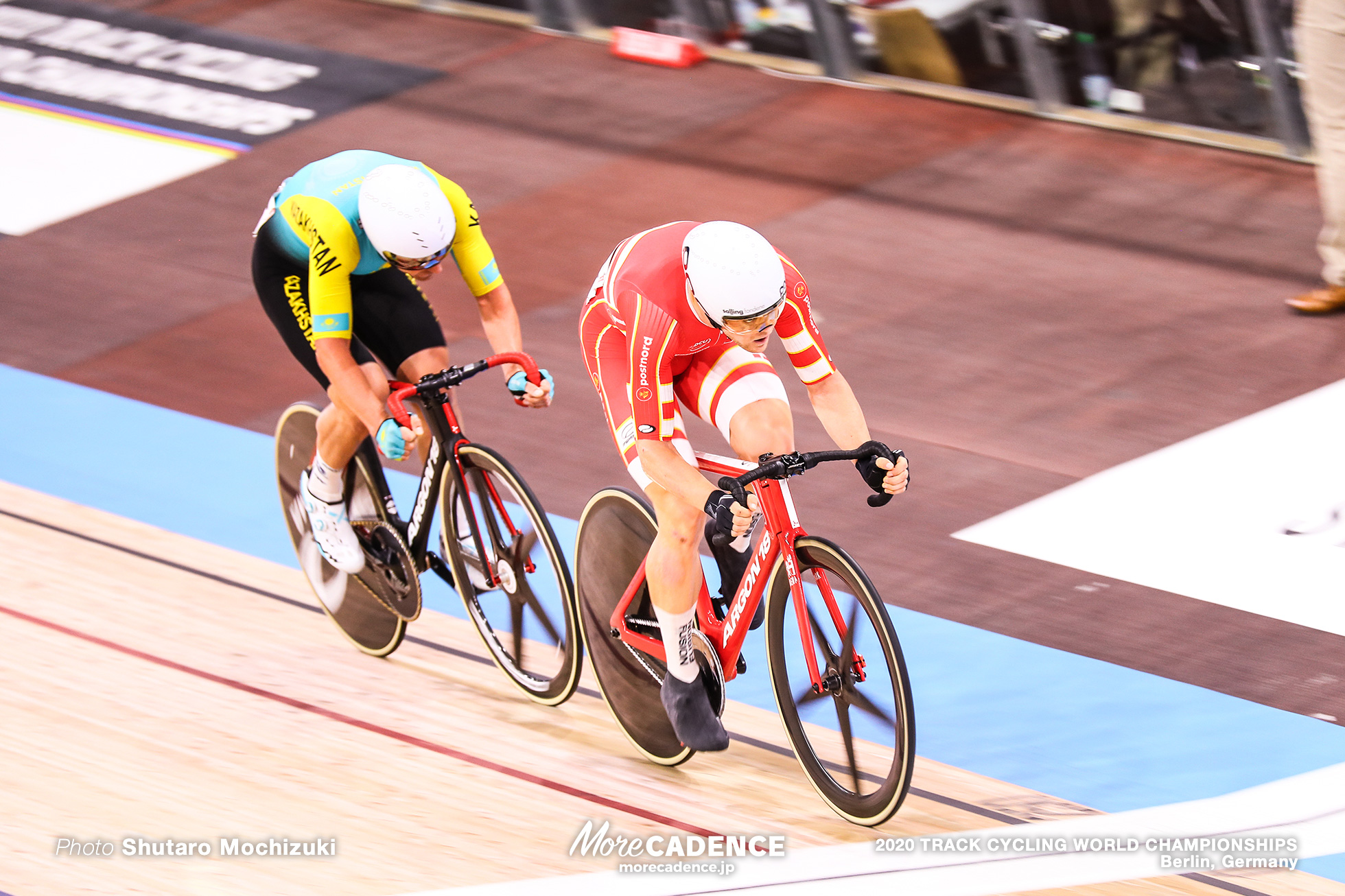 Scratch Race / Men's Omnium / 2020 Track Cycling World Championships