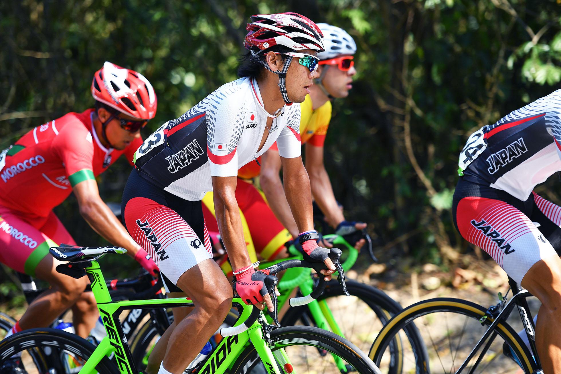 Cycling: 31st Rio 2016 Olympics / Men's Road Race Yukiya ARASHIRO (JPN)/ Fort Copacabana - Fort Copacabana (237,5Km) Cycling Road / Summer Olympic Games / pool gw (Photo by Tim de Waele/Corbis via Getty Images)