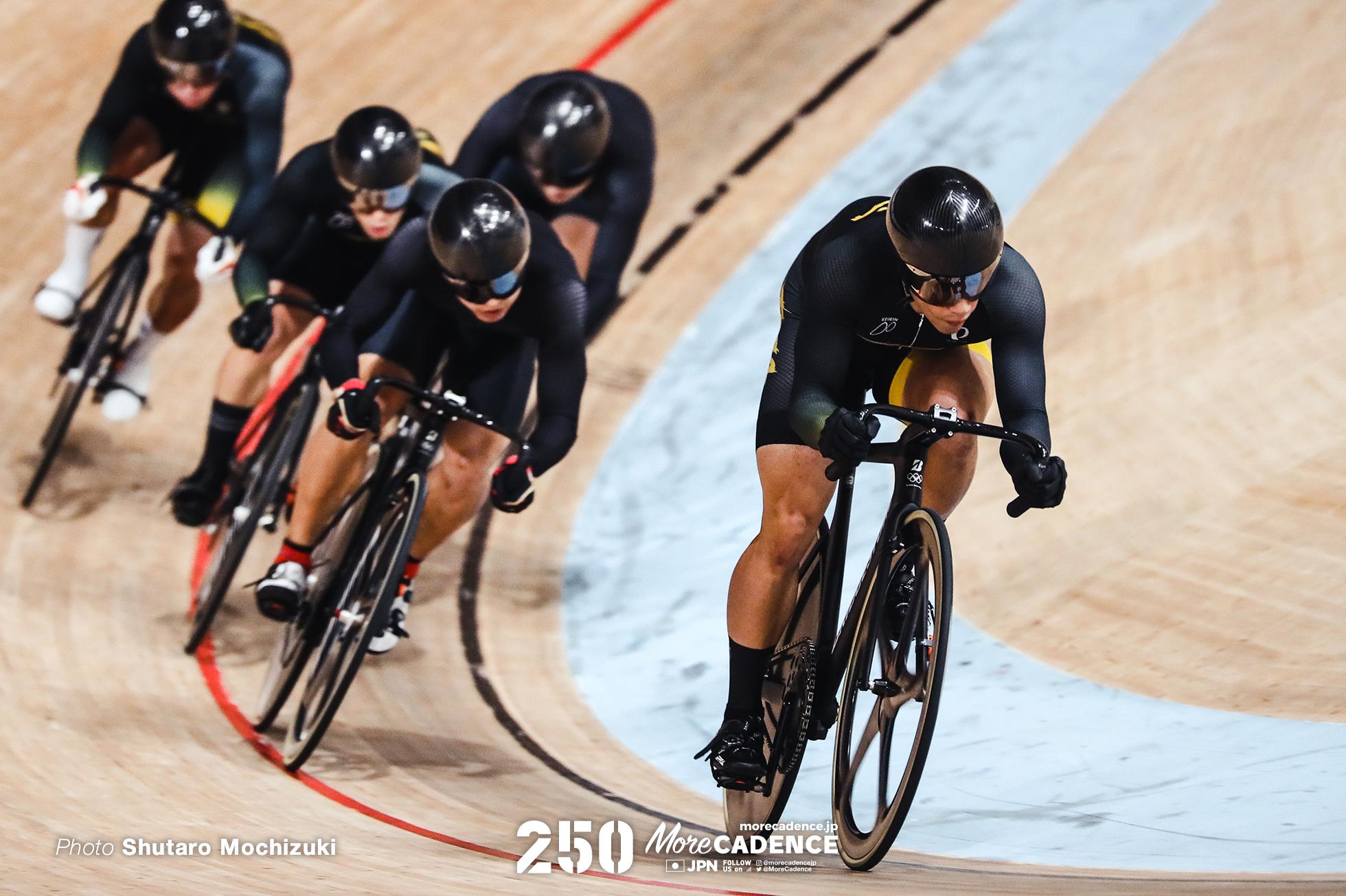 男子ケイリン7-12位決定戦, オリンピックシュミレーション