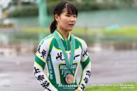 岐阜第一 大野風貴芽 500mTT ジュニアサイクルスポーツ大会