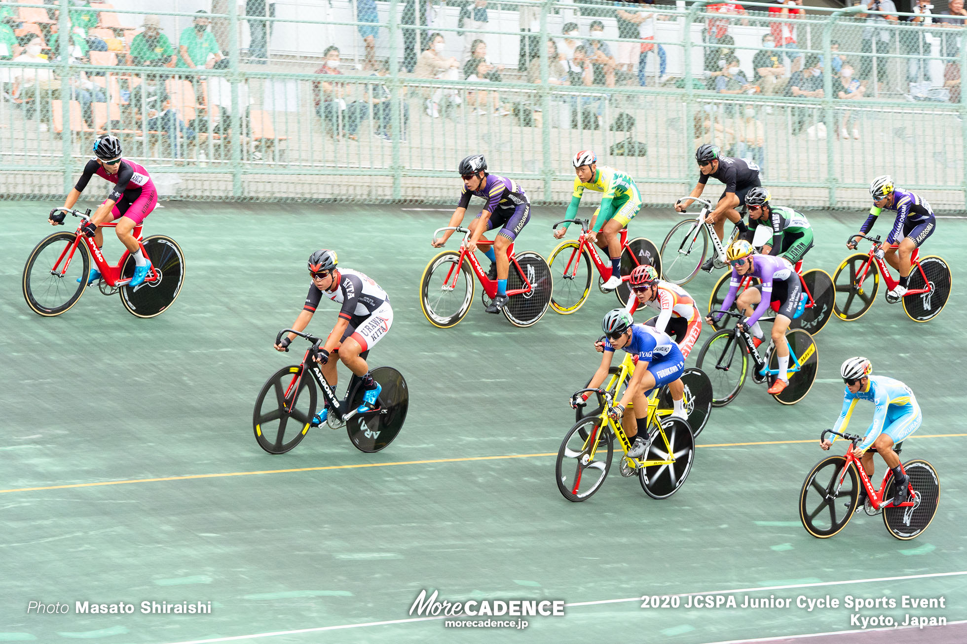 ポイントレース ジュニアサイクルスポーツ大会