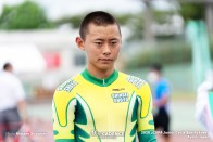 岩田聖矢(榛生昇陽) ポイントレース ジュニアサイクルスポーツ大会
