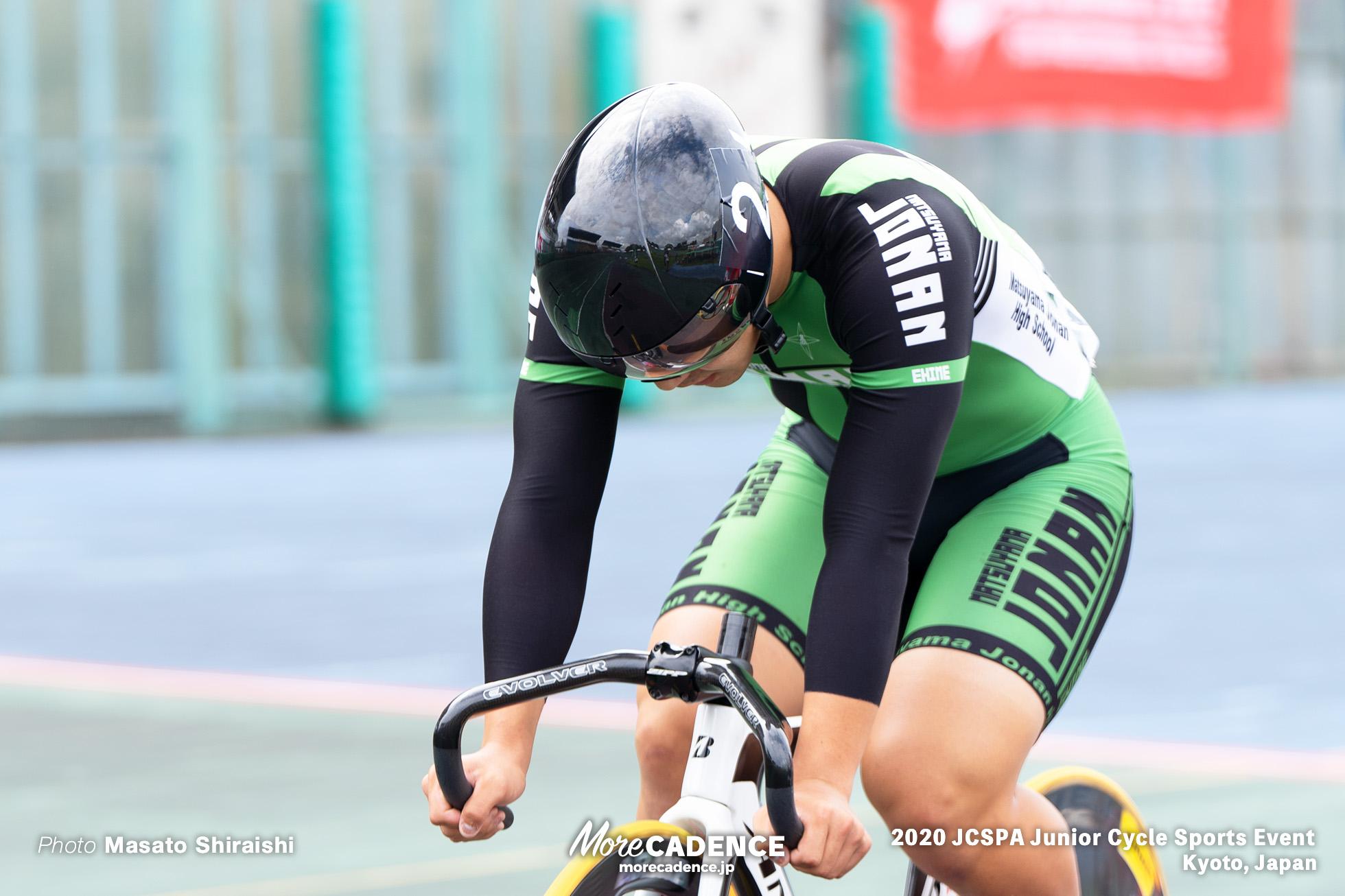 半田誠(松山城南)男子ケイリン ジュニアサイクルスポーツ大会