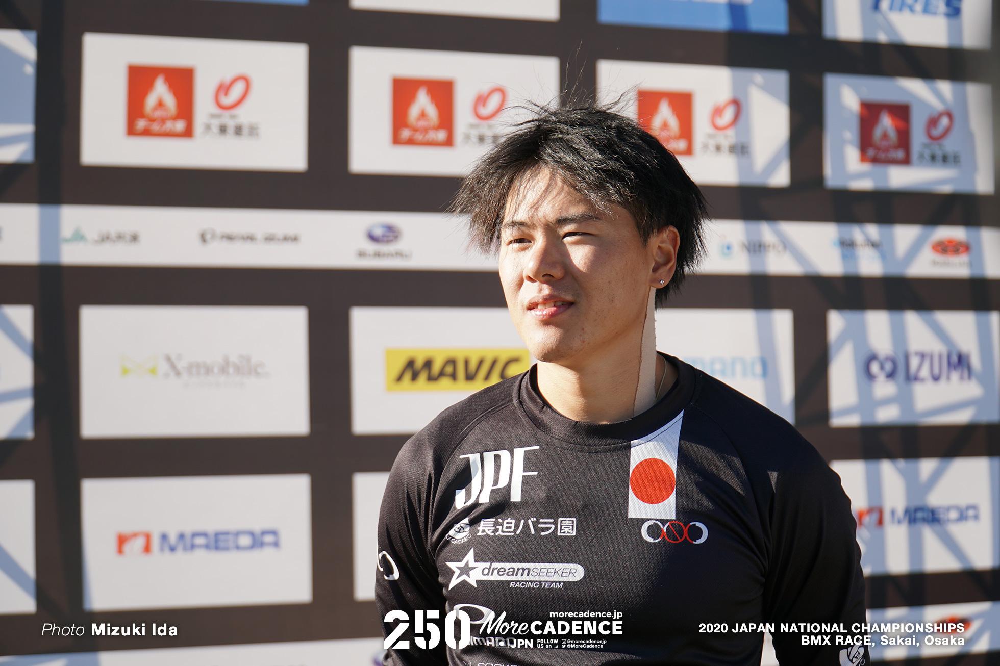 長迫吉拓 Yoshitaku Nagasako, 2020全日本選手権BMXレース