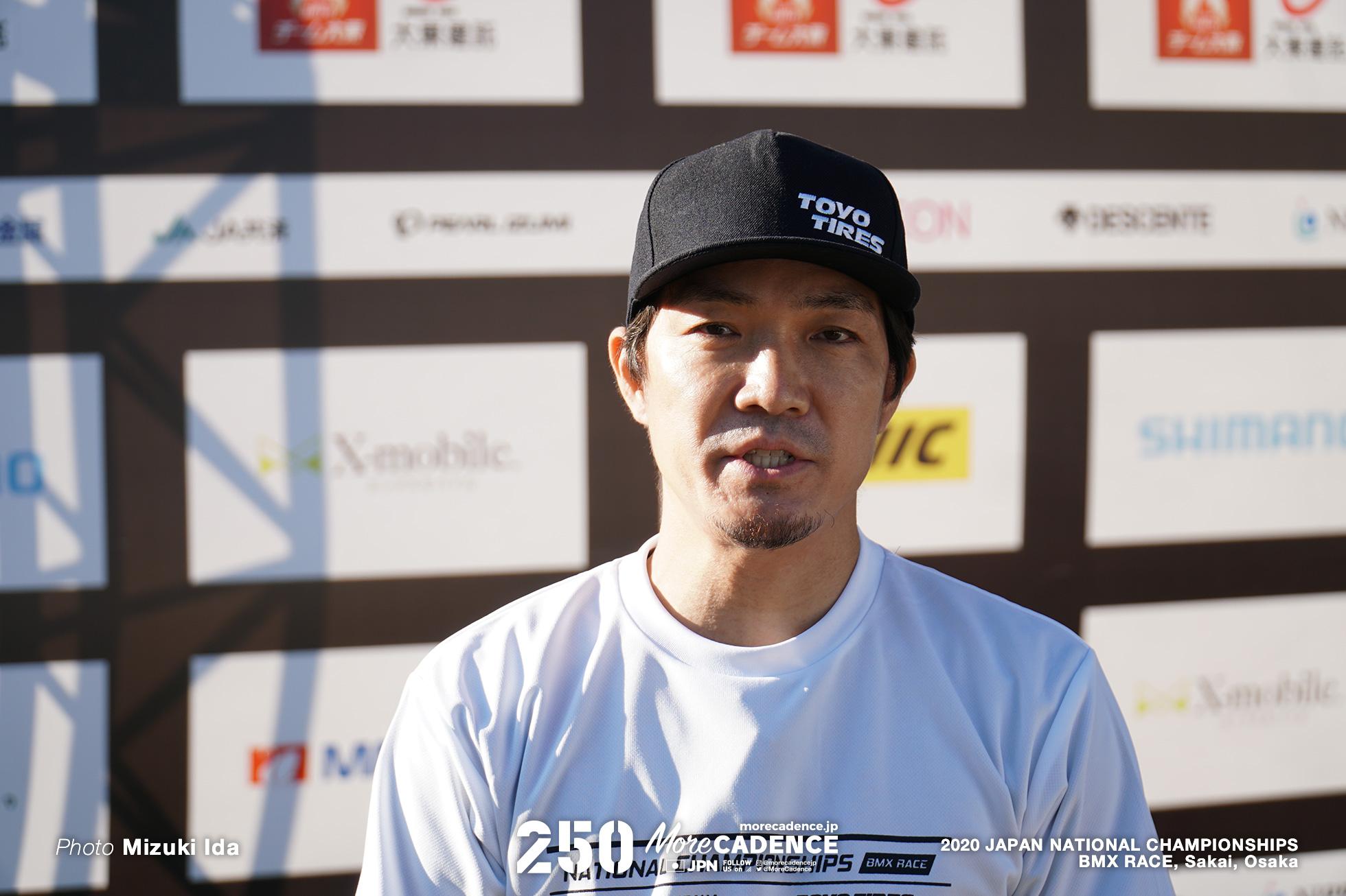 阪本章史, 2020全日本選手権BMXレース