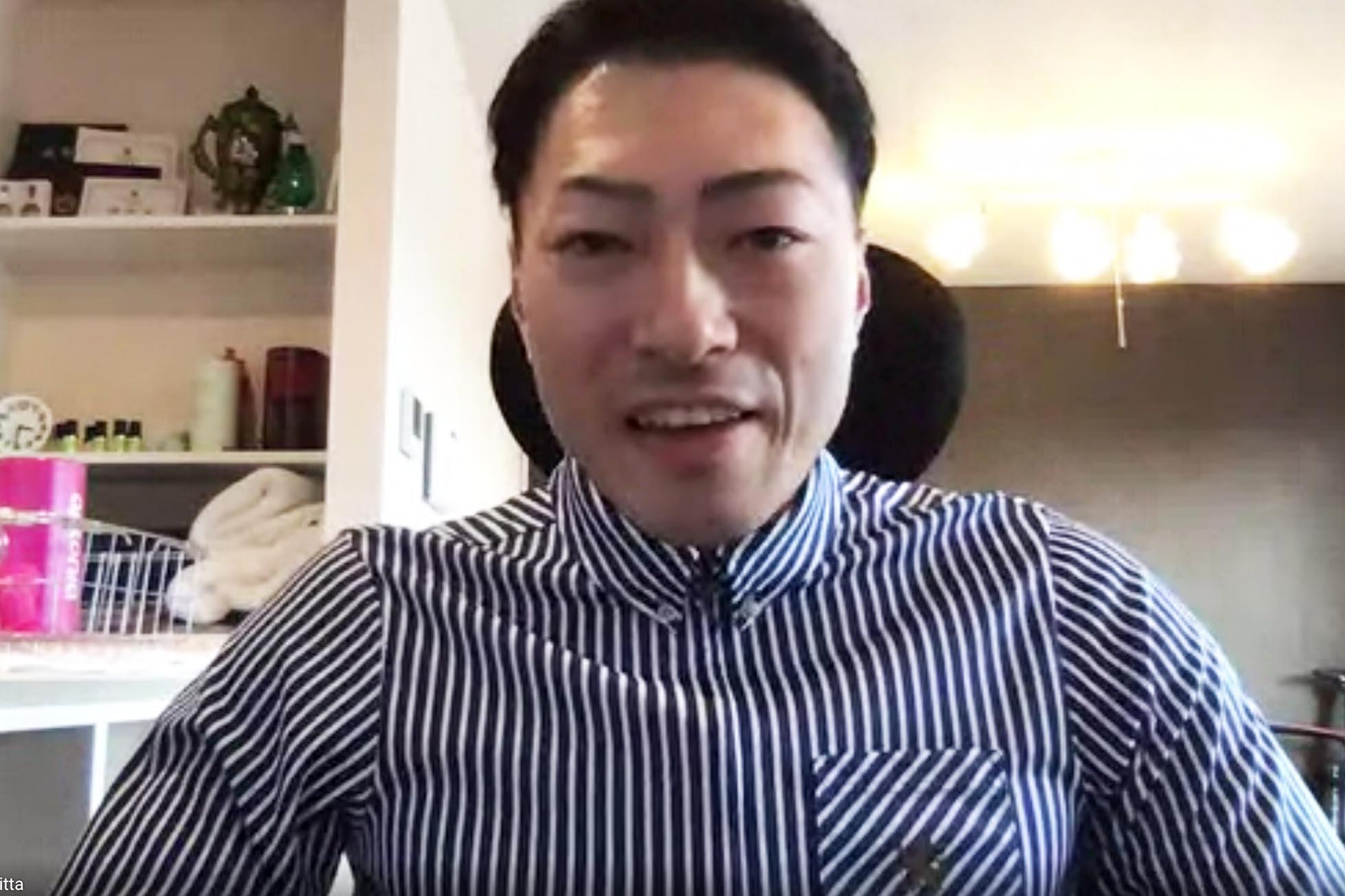新田祐大 オンライン講演