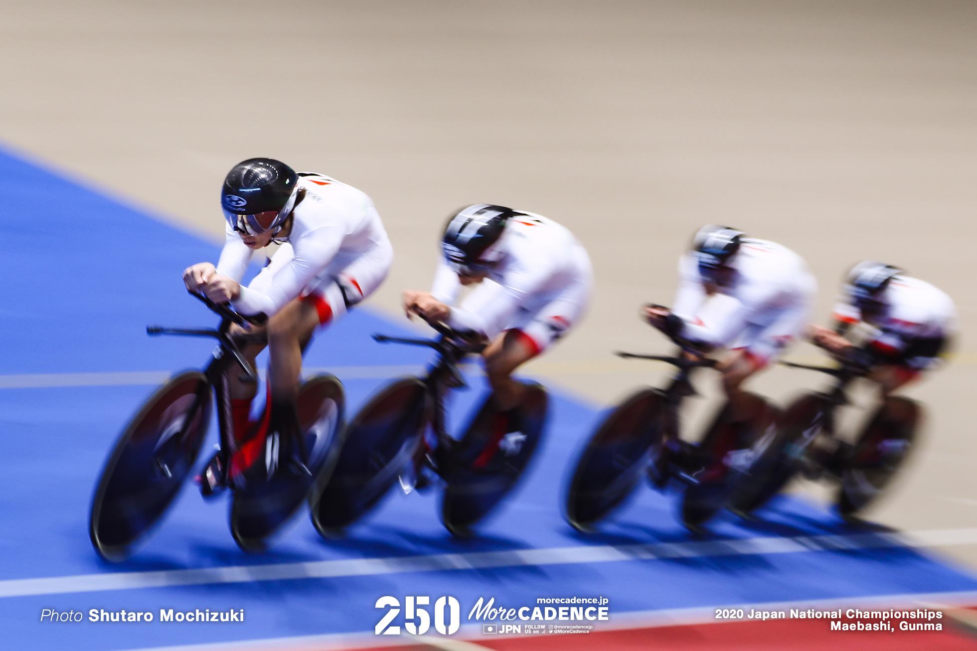 TEAM BRIDGESTONE CYCLING /男子チームパシュート/2020全日本選手権トラック