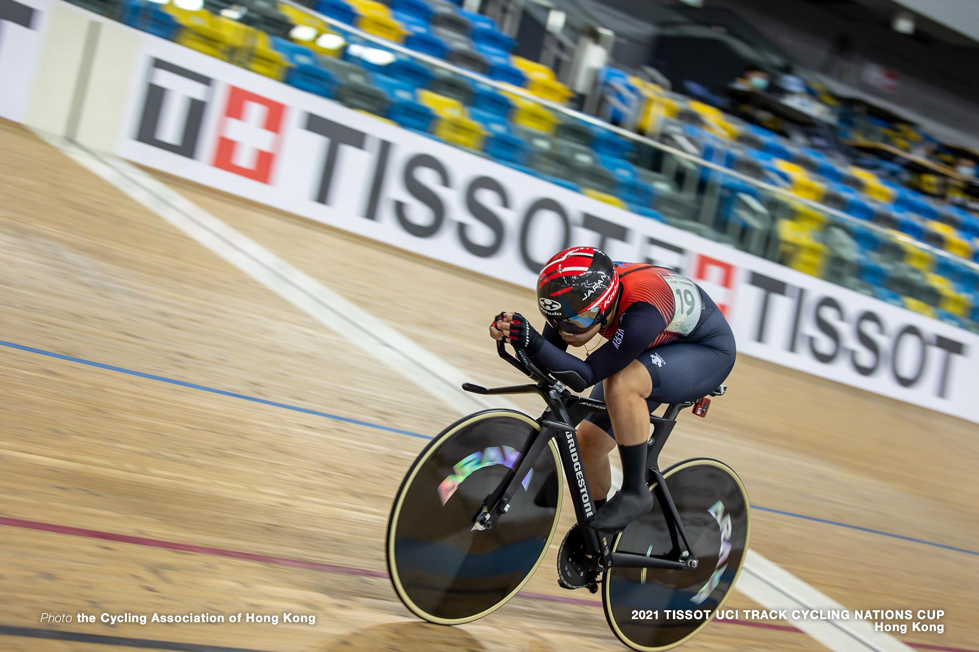 古山稀絵/Kie Furuyama, Women's Individual Pursuit, TISSOT UCI TRACK CYCLING NATIONS CUP - HONG KONG