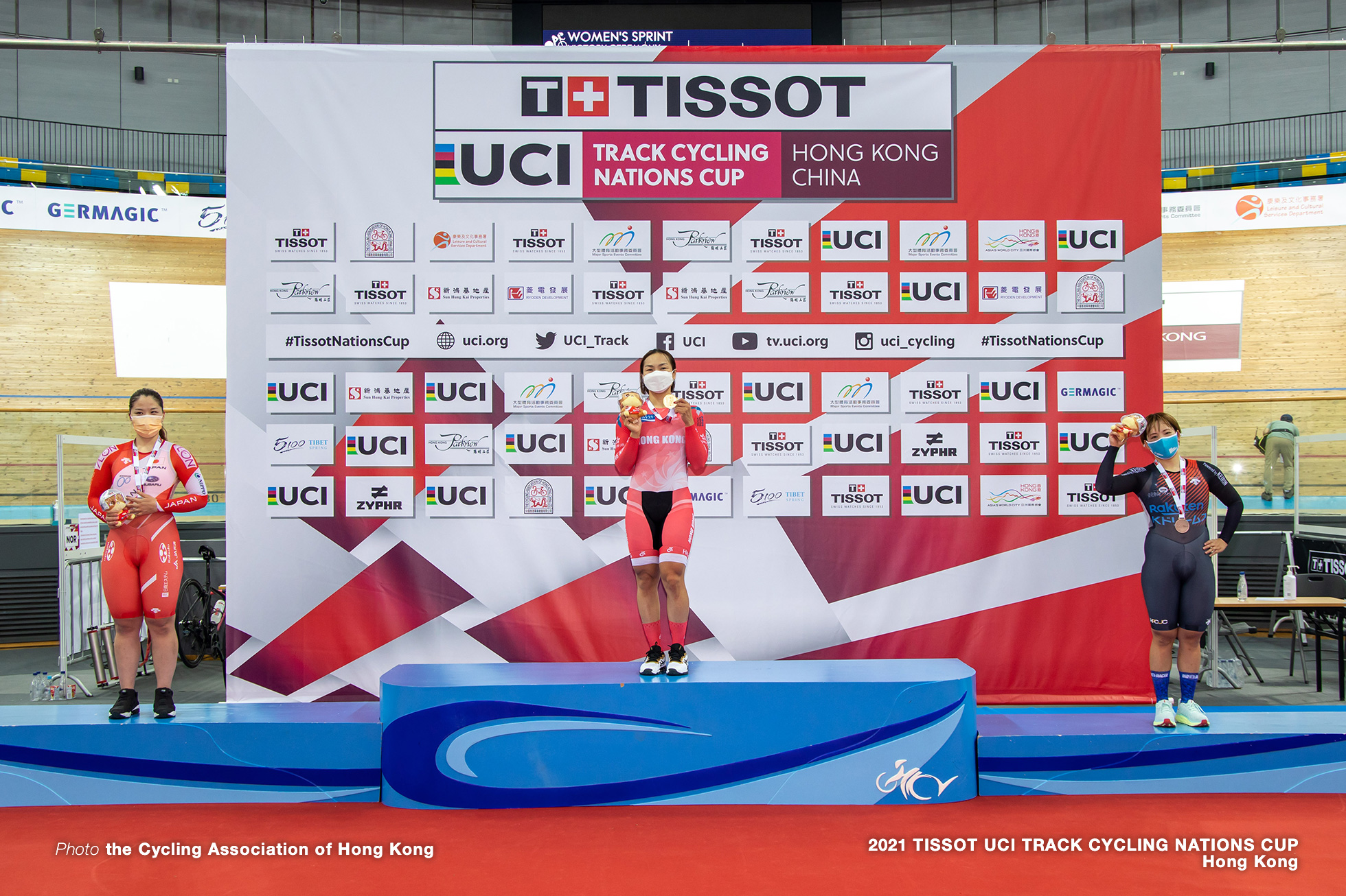 Women's Sprint, TISSOT UCI TRACK CYCLING NATIONS CUP - HONG KONG