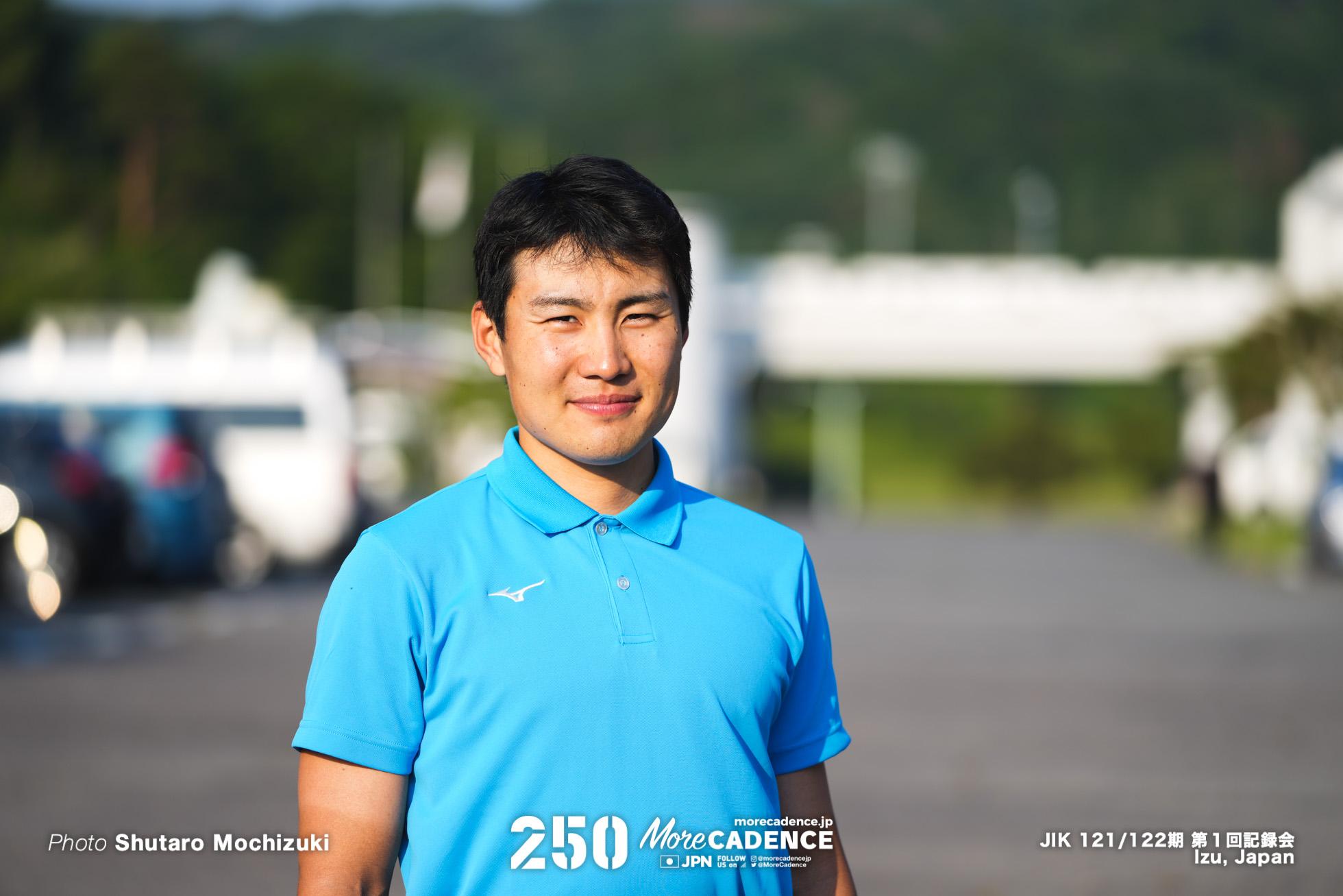 一丸尚伍, 日本競輪選手養成所, 第121・122回生, 第1回記録会