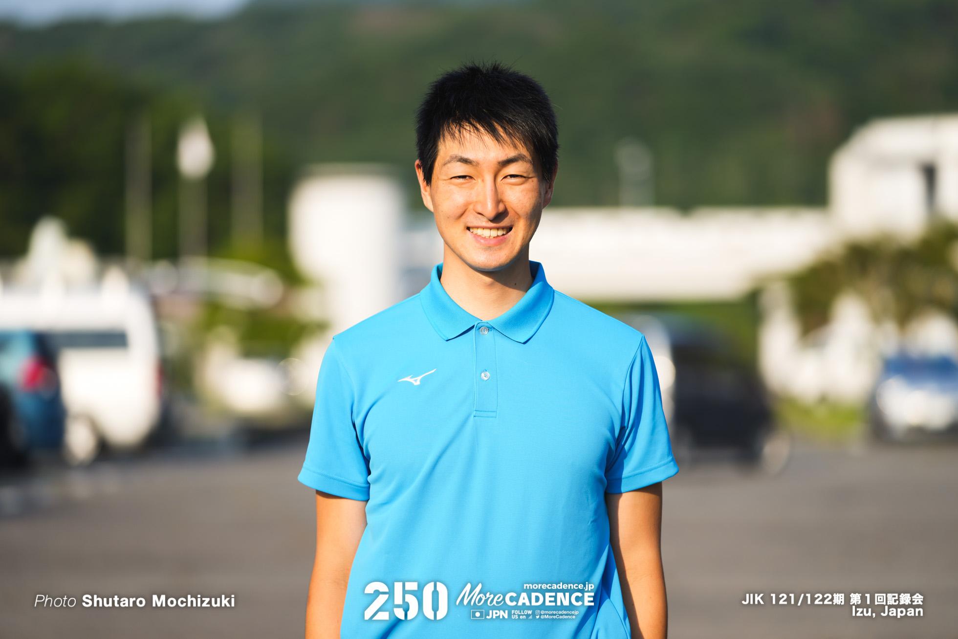 近谷涼, 日本競輪選手養成所, 第121・122回生, 第1回記録会