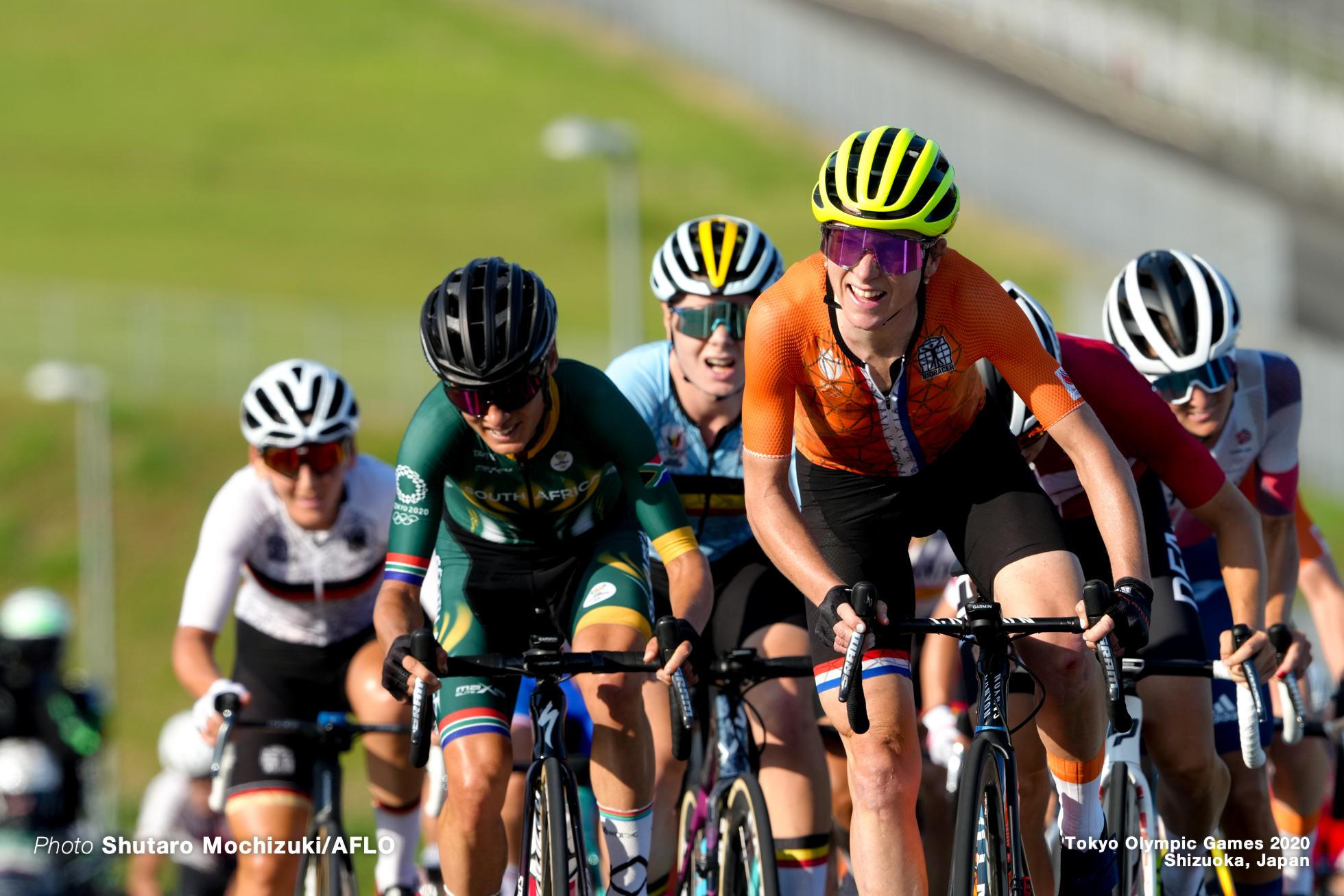 アンネミク・ファンフルテン Annemiek van Vleuten (NED), JULY 25, 2021 - Cycling : Women's Road Race during the Tokyo 2020 Olympic Games at the Fuji International Speedway in Shizuoka, Japan. (Photo by Shutaro Mochizuki/AFLO)