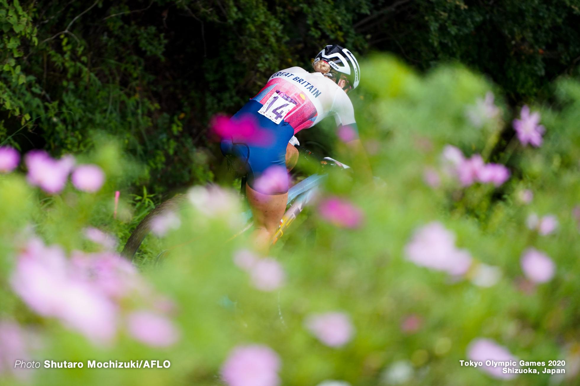 イーヴィー・リッチャーズ Evie Ritchaeds (GBR), JULY 27, 2021 - Cycling : Women's Cross-country during the Tokyo 2020 Olympic Games at the Izu MTB Course in Shizuoka, Japan. (Photo by Shutaro Mochizuki/AFLO)