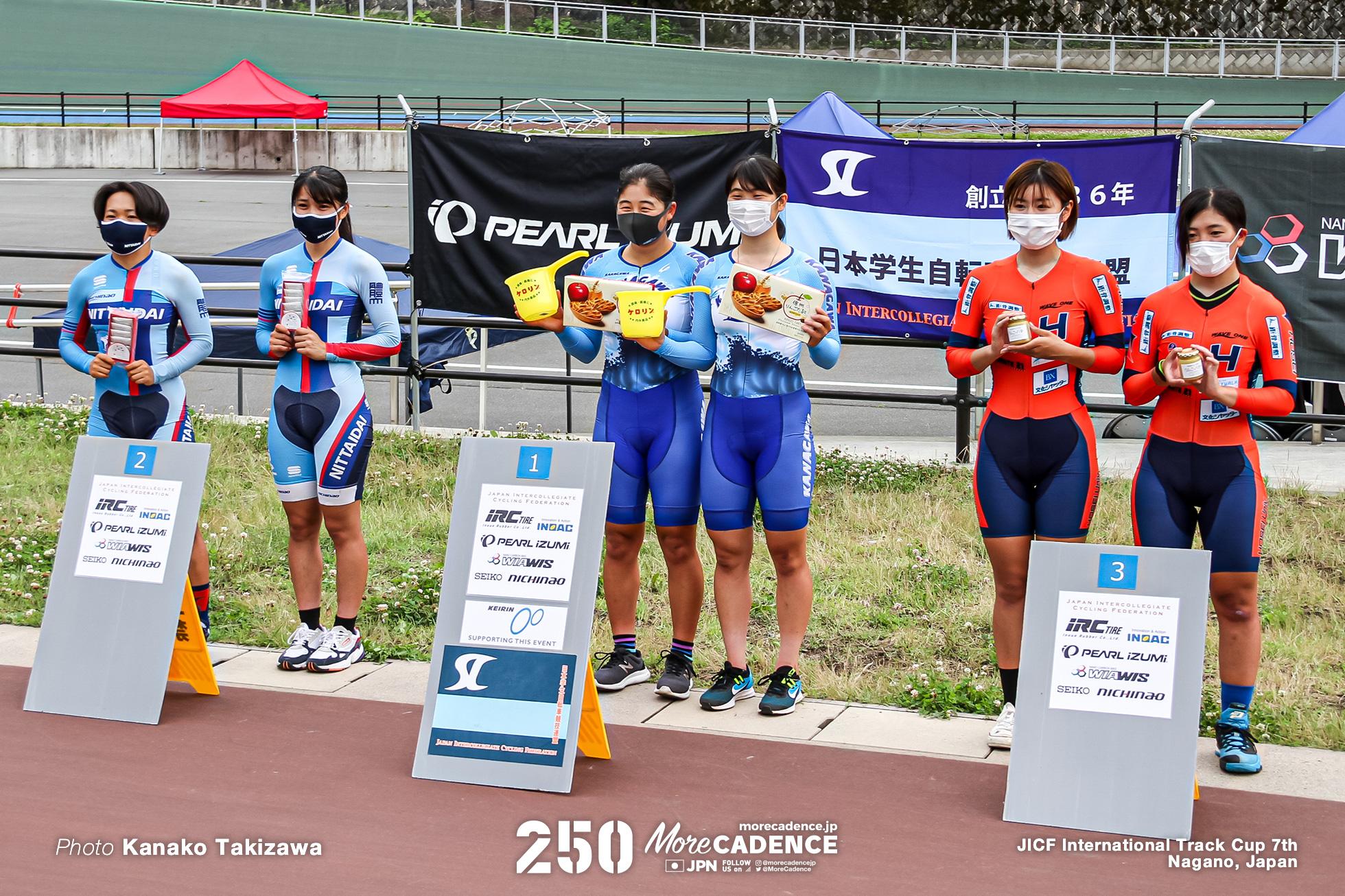 女子マディソン, 第7回全日本学生選手権オムニアム