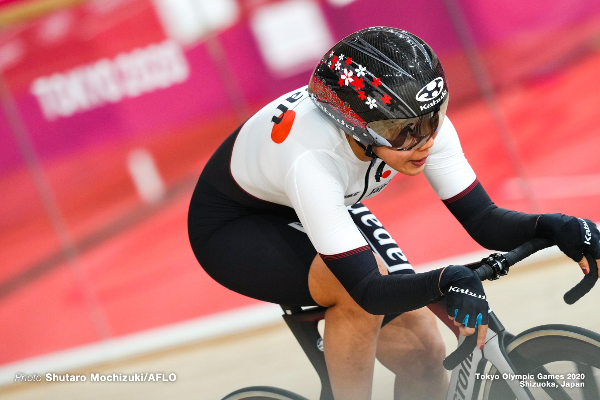 中村妃智/Kisato Nakamura (JPN),AUGUST 2, 2021 - Cycling : during the Tokyo 2020 Olympic Games at the Izu Velodrome in Shizuoka, Japan. (Photo by Shutaro Mochizuki/AFLO)