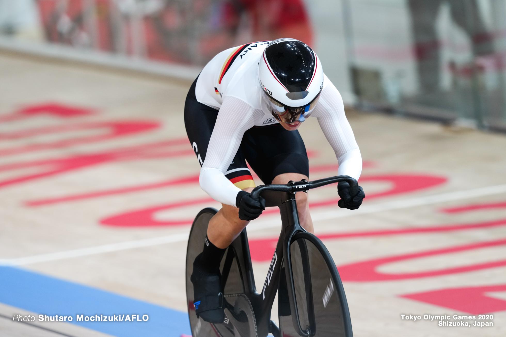 エマ・ヒンツェ Emma Hinze (GER), Women's Team Sprint final AUGUST 2, 2021 - Cycling : during the Tokyo 2020 Olympic Games at the Izu Velodrome in Shizuoka, Japan. (Photo by Shutaro Mochizuki/AFLO)