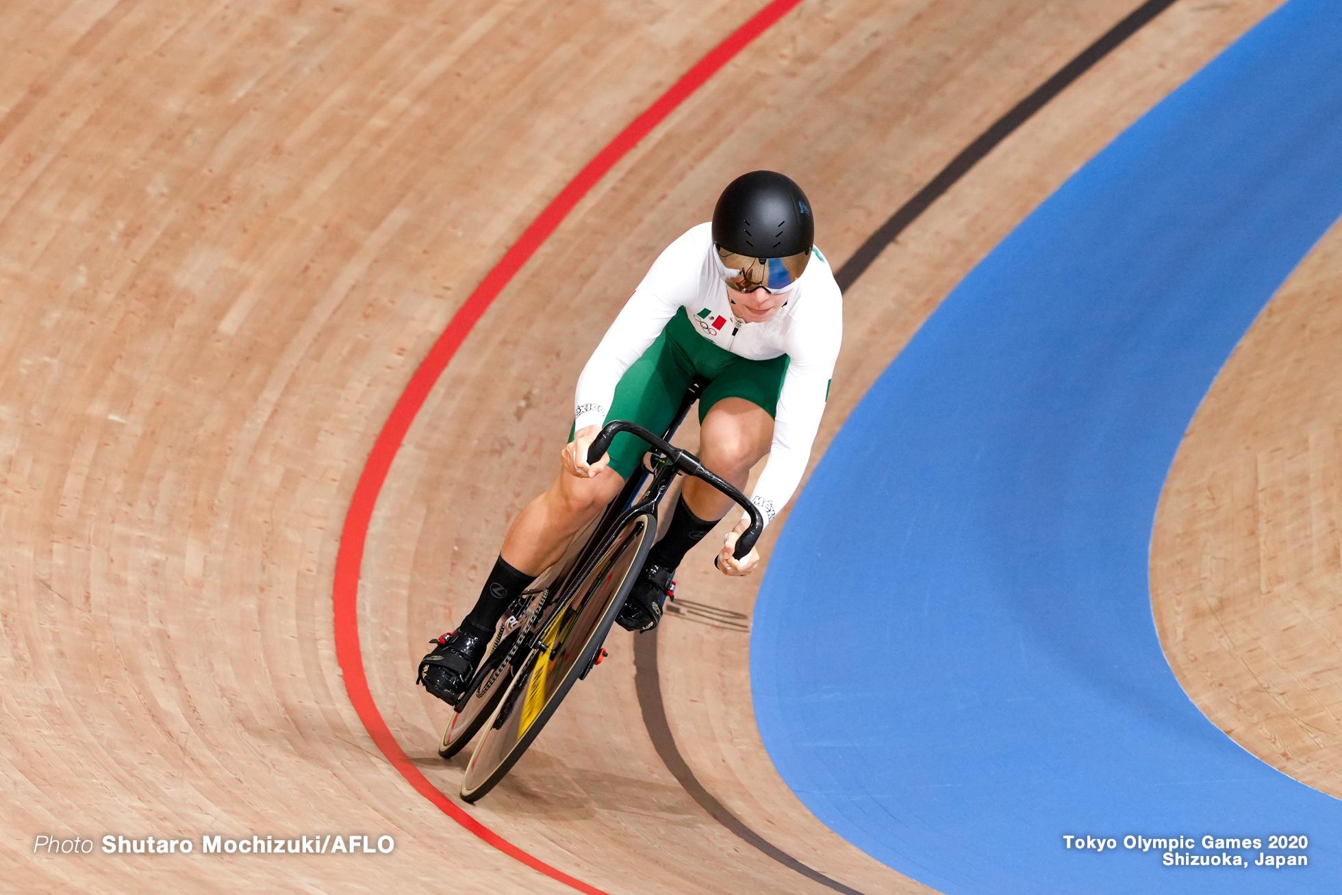 ルス ダニエラ・ガシオラ ゴンザレス Luz Daniela Gaxiola Gonzalez (MEX), Women's Sprint Qualifying AUGUST 6, 2021 - Cycling : during the Tokyo 2020 Olympic Games at the Izu Velodrome in Shizuoka, Japan. (Photo by Shutaro Mochizuki/AFLO)