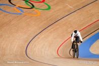 リー ソフィー・フリードリッヒ Lea Sophie Friedrich (GER), Women's Sprint Qualifying AUGUST 6, 2021 - Cycling : during the Tokyo 2020 Olympic Games at the Izu Velodrome in Shizuoka, Japan. (Photo by Shutaro Mochizuki/AFLO)