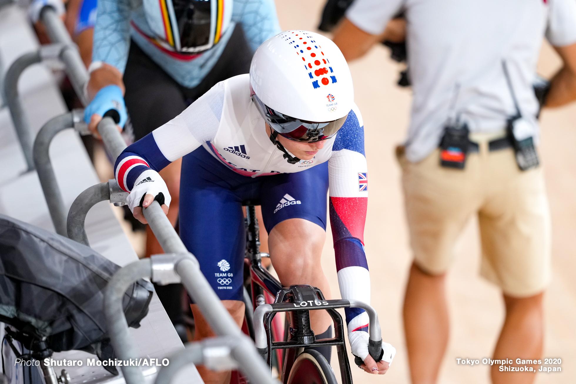 ローラ・ケニー Laura Kenny (GBR), Women's Omnium Scratch Race 1/4 AUGUST 8, 2021 - Cycling : during the Tokyo 2020 Olympic Games at the Izu Velodrome in Shizuoka, Japan. (Photo by Shutaro Mochizuki/AFLO)