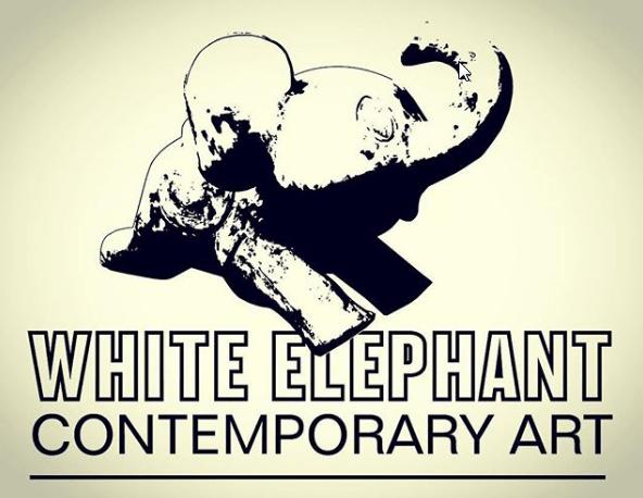 White Elephant Gallery logo