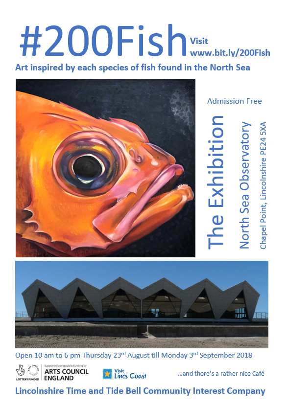200 fish exhibition poster