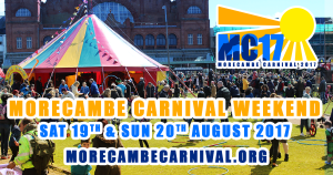 Morecambe Carnival 2017 - 19th & 20th August 2017