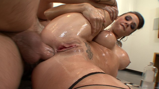 Oily after anal sex