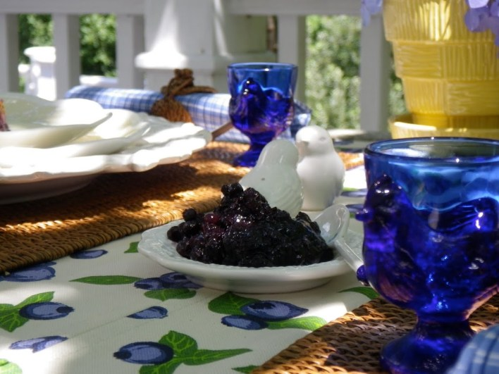 Blueberry Table