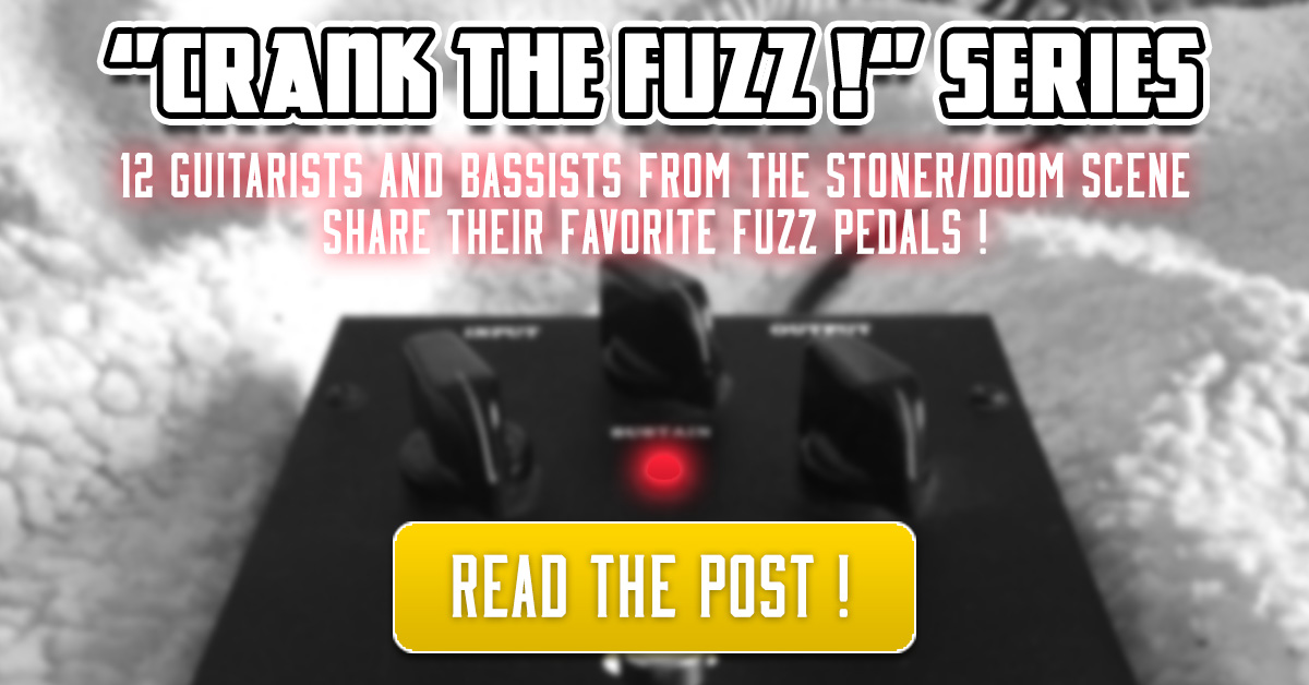 "Crank The Fuzz !"" Series – #1 ⚡️ | More Fuzz Stoner Rock Blog"