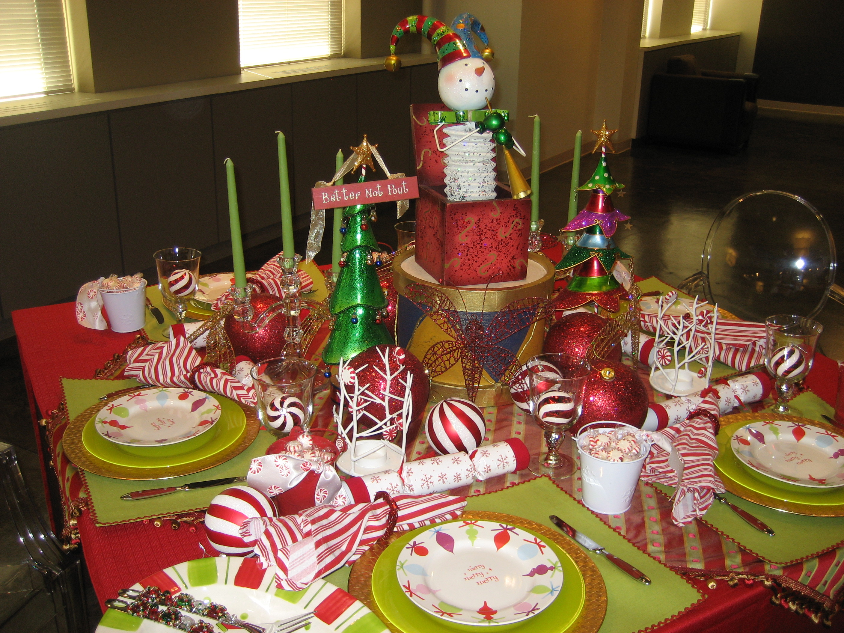 Snowmen And Christmas Trees And Tablescapes, Oh My!