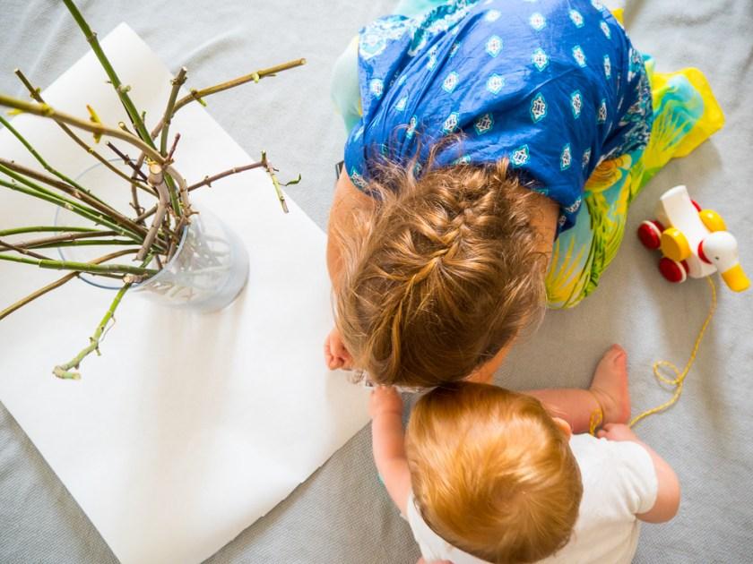 DIY-Kindergartenabschlussgeschenk-kleine Helfer-BRIO Lauflernente