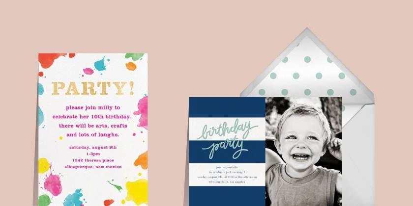 Kindergeburtstagsparty-für-Jungs-Einladung