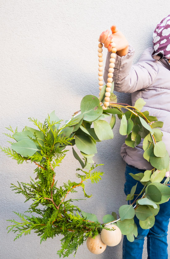 DIY Kränze binden mit Naturmaterialien Kranz