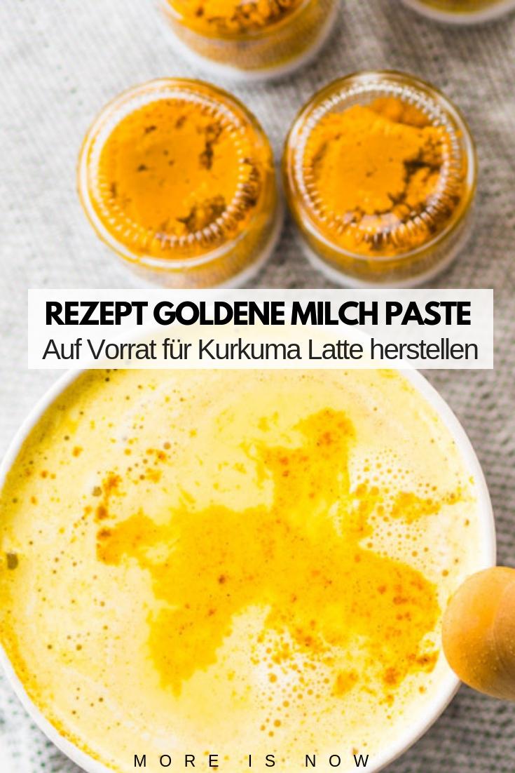 Rezept Goldene Milch Paste