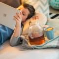 Gratis Hörbücher für Kinder Junge mit Ipad & Tee