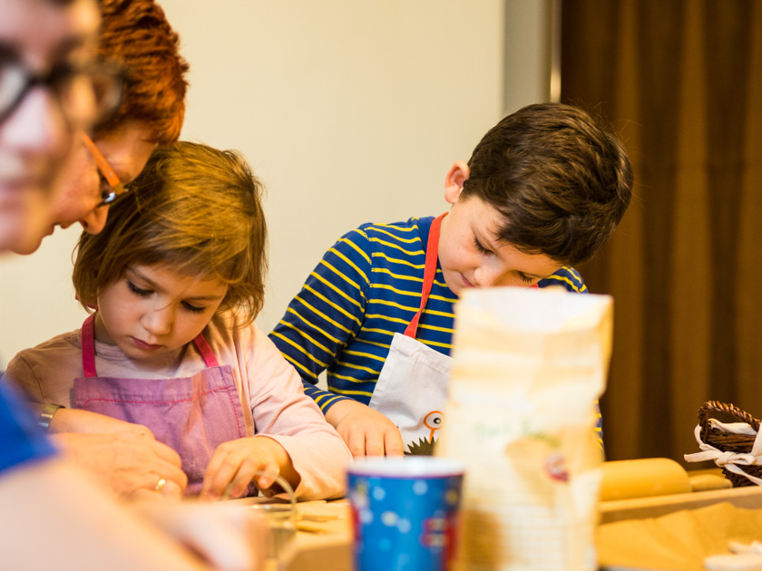 Gesunde Clean Eating Kekse - Kinder backen Weihnachtskekse