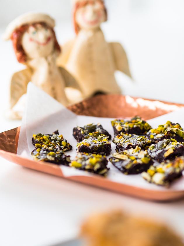 Gesunde Clean Eating Kekse - Schoko Fudge