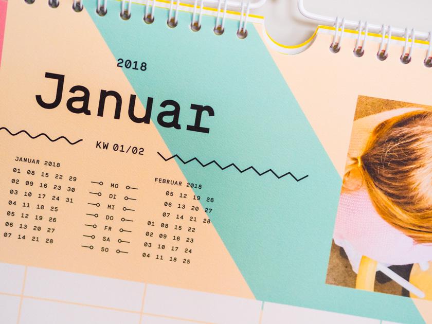 Organisiert ins neue Jahr - Familienplaner
