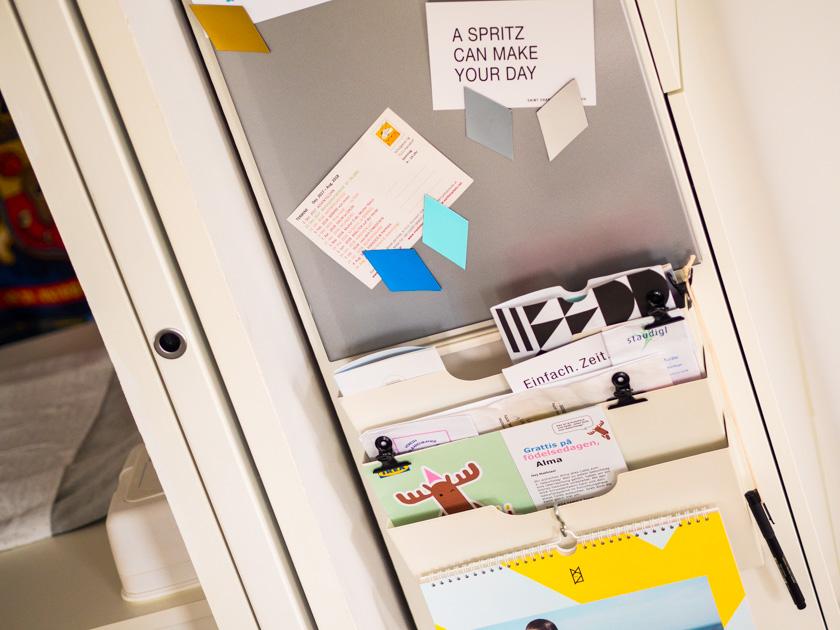 Organisiert ins neue Jahr - Registersystem & Magnetwand