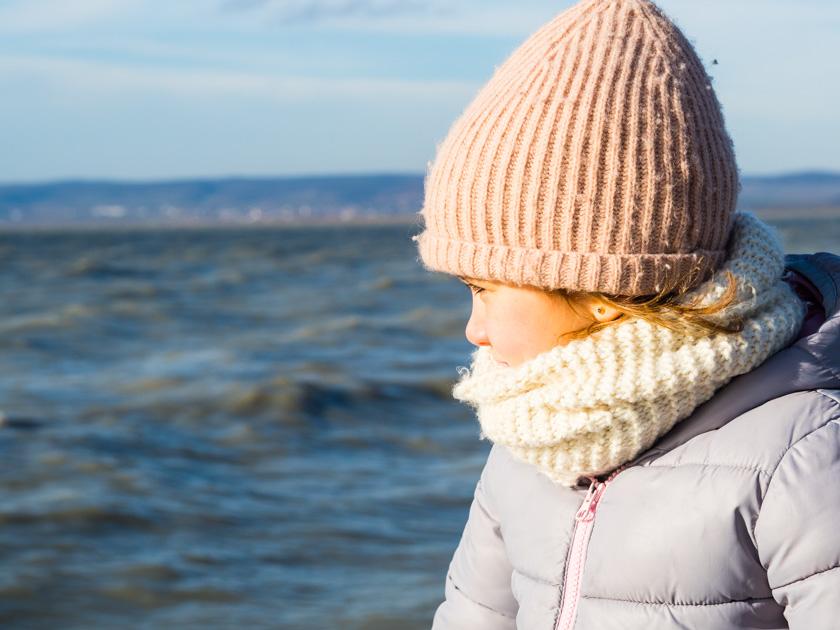 Mit Kindern gesund durch den Winter_Mädchen