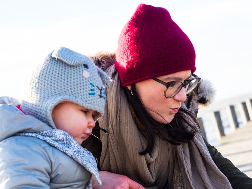 Mit Kindern gesund durch den Winter_Mama und Tochter