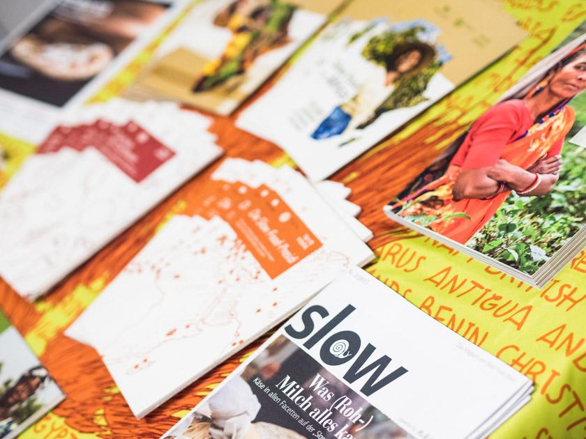 Krapfen backen mit Kindern -Slow Food Broschüren