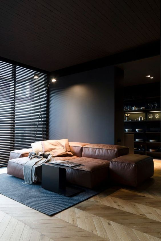 Wohnideen mit Kinder_Sofa modular cognac