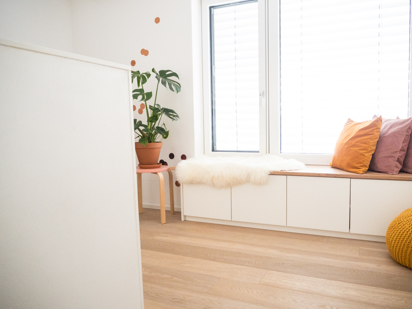 Wohnideen mit Kindern_Galerie mit Fensterbank