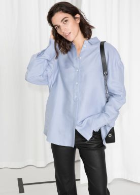 Mama Style Inspiration_Other Stories_Bluse blau