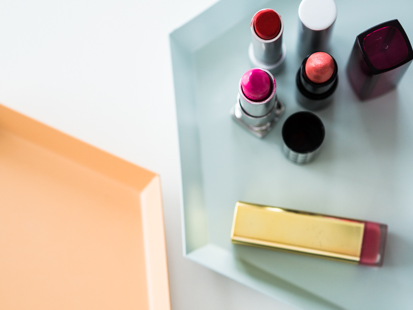 5 Minuten Mama Tages Make up_Lippenstift