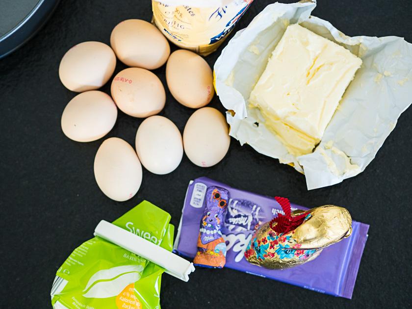Naked Sacher Rezept_Zutaten Kuchen