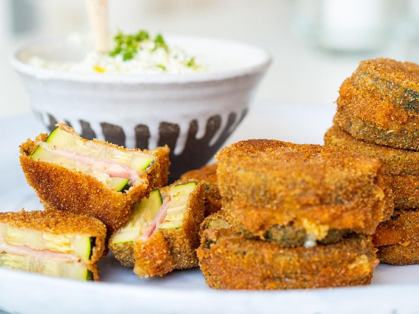 Rezept Gefüllte Zucchini Fritters_Essen mit Kindern