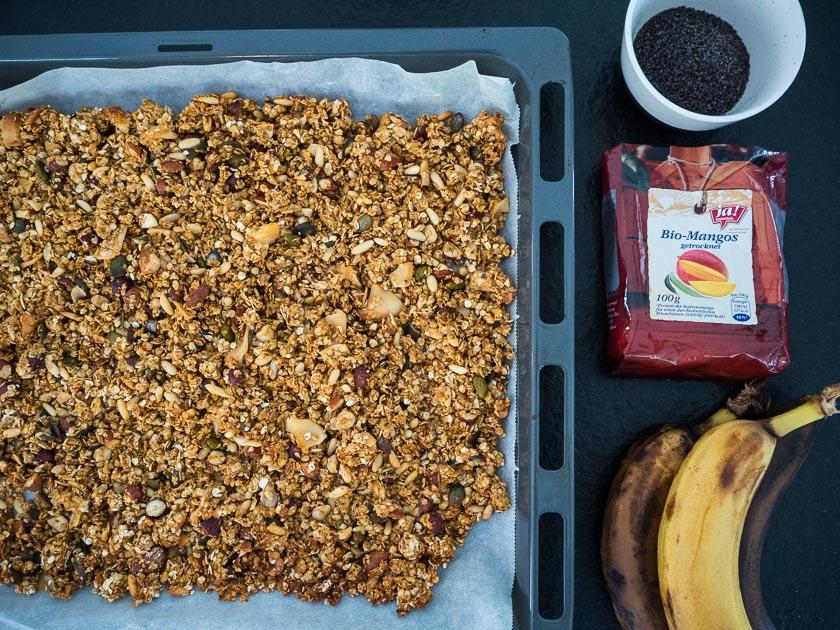 Meal Prep für Familien_Cookies Zutaten