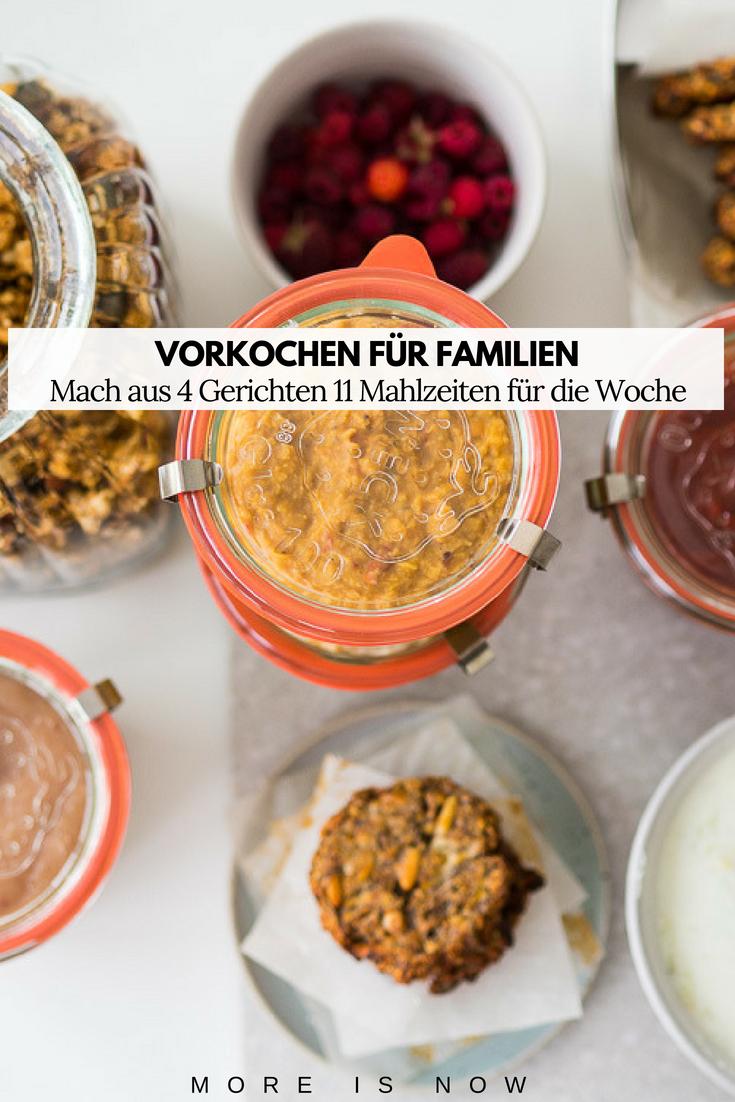 Meal Prep für Familien_Vorkochen